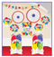241370 Balloon Bash Room Decorating Kit