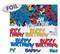 368279 2.5 oz. Happy Birthday Type Embossed Metallic Confetti