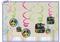679906 Neon Birthday Value Pack Foul Swirl Decorations