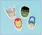 393372 Marvel Avengers™ Eraser Favor
