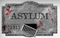 "190269 Asylum/Chop Shop ""ASYLUM"" Foam Sign"