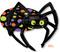 """29038-01 P75 33"""" Halloween Spider Multi-Balloon"""