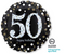 "32137-01 P40 28"" Sparkling Birthday 50 Jumbo Holographic He"