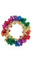 "397496  3"" Drop Bead Bracelets - Rainbow"