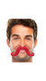 """390122.40 2 2/3"""" x 5 1/2"""" Moustaches Red"""