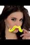 """394564 2 2/3"""" x 5 1/2"""" Moustaches Neon"""