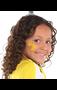 """396126.09 5"""" x 3 1/2"""" Body Jewelry Yellow"""
