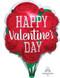 "38730-01 S50 18"" HVD Red Rose Junior Shape XL®"
