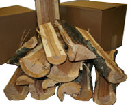Split Firewood - Apple