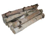 Northern White Birch Logs, set of 8