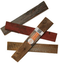 Reclaimed Barn Wood Strip (2 inches Wide) 4 strips