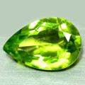 Peridot Pear  12.7mm x 7.9mm  #AB102