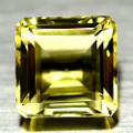Natural Citrine Cushion Cut  AAA Quality 12mm #PG200