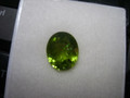 Natural Peridot Oval 5.53ct  12mm x 10mm #EB1058