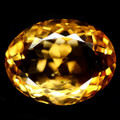 Natural Citrine 10.06ct Oval 15mm x 12mm AAA Quality #PG1048