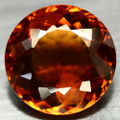 Natural Citrine Round 22mm Breathtaking Color 35.41ct #PG1375