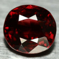 Natural Red Spinel 6.5mm x 6mm Cushion 1.2ct #PG1556