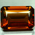 Natural Citrine 31.27ct  Emerald Cut 22mm x 16.1mm AAA Quality #PG1566