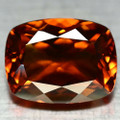 Natural Citrine 15.16ct  Cushion Cut 18.2mm x 13.9mm AAA Quality #PG1714