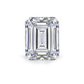 Natural White Topaz 8mm x 6mm Emerald Cut Wholesale Lot of 4 Stones