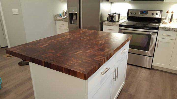 We are Ready to Help. & Wood Kitchen Countertop - Top Chop Butcher Block
