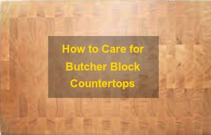 Butcher Block Countertop