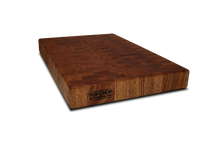 Mahogony End Grain Butcher Block 2""