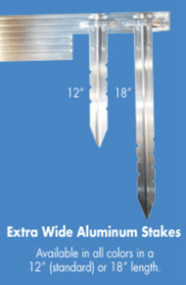 Aluminum Edging Stakes