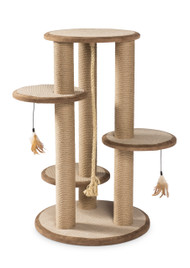 Kitty Power Paws Multi-Tier Cat Scratching Post
