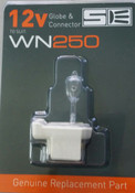 Spa Electrics WN Series Globe and Connector Set (WN207)