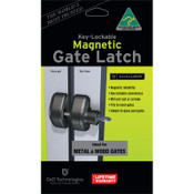 MagnaLatch Side Pull Lockable Pool Gate Latch (MLSPS2LRO)