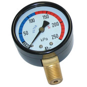 Pressure Gauge - Metal - Lower Mount