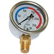 Pressure Gauge - Stainless Steel Oil Filled - Lower Mount