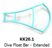 Kreepy Krauly Dive Float Bar - Extended Genuine