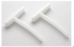 Waterco Weir Door Clip/Hinge (Set of 2)
