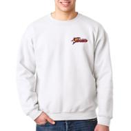 SSC Gildan Crewneck Adult Sweatshirt - White (SSC-148-WH)