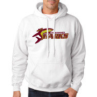 SSC Gildan Heavy Blend Adult Hoodie - White (SSC-092-WH)