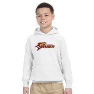 SSC Gildan Heavy Blend Youth Hoodie - White (SSC-247-WH)