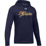 SSC Under Armour Men's Hustle Fleece Hoody - Navy (SSC-093-NY)