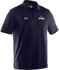 UA Mens Performance Team Polo - Navy