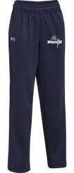 SJA UA Ladies Storm Armour Fleece Pant - Navy