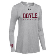 MDC Under Armour Women's Long Sleeve Locker Tee 2.0 - True Grey (MDC-023-GY)