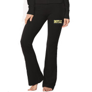 MDC Women's Bella + Canvas Cotton/Spandex Fitness Pant - Black