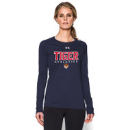 SVR Under Armour Womens Long Sleeve Locker Tee - Navy