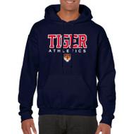 SVR Gildan Men's Hooded Sweatshirt - Navy