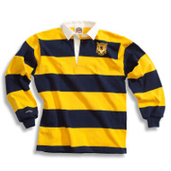 """LPC Barbarian """"Bumble Bee"""" LP Rugby Jersey - Navy Gold"""