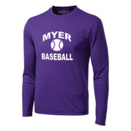 ANM ATC Men's Long Sleeve T-Shirt - Purple