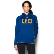LPC Under Armour Women's Double Threat Fleece Tennis Hoodie - Royal (LPC-026-RO)