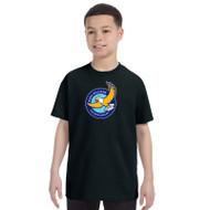GWP Gildan Youth Heavy Cotton T-Shirt - Black (GWP-046-BK)