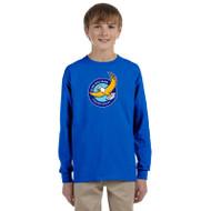 GWP Gildan Youth Ultra Cotton Long Sleeve Shirt - Royal (GWP-047-RO)